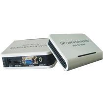 Adaptador / Convertidor De Vga Con Audio A Hdmi