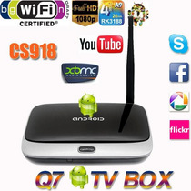 Smart Tv Box Android 4.4 2gb/8gb Quad Core Con Air Mouse