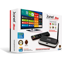 Android Tv Joinet Jbox Quad Core 8gb Full Hd 1080p Smart Tv