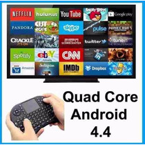 Smart Tv Android 4.2 Mini Pc Box Wifi 8gb + Teclado Gratis