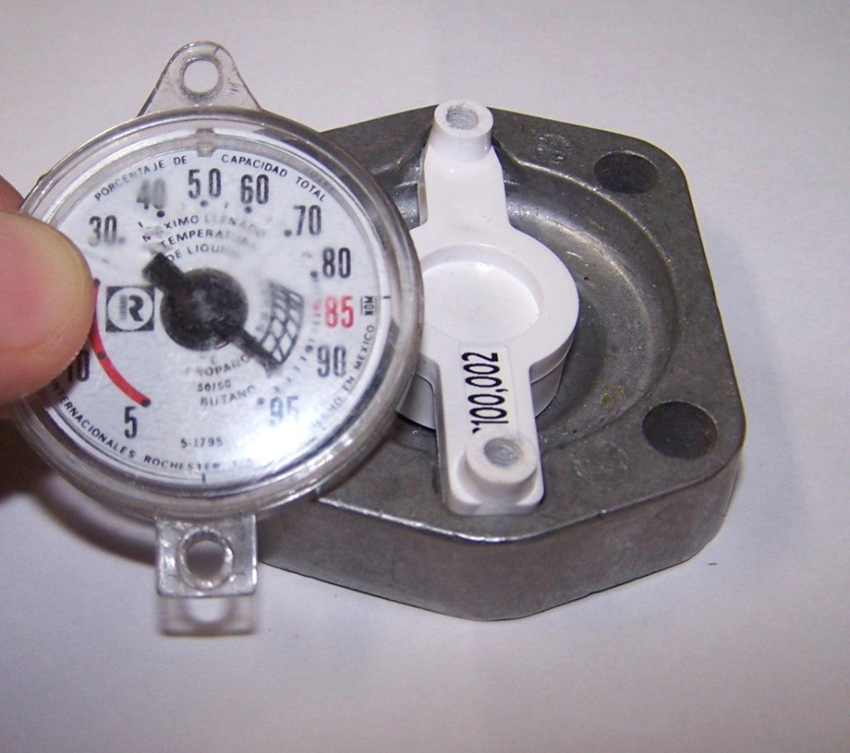 Medidor de gas lp en litros para tanque estacionario 1 490 00 en