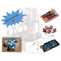 Kit Impresora 3d Toda La Electronica Ramps 1.4 Prusa Arduino