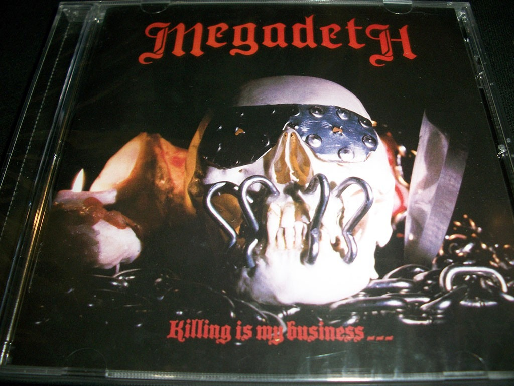 killing is my business megadeth: