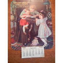 Hermoso Calendario De 1927 Droguería Mexicana Tacuba 16