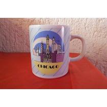 Taza I Love Chicago Souvenir Regalo Recuerdo Decoracion