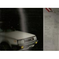 Catálogo De Agencia México Auto Nissan Samurai 1600 De 1986