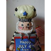 Figura Chocolate Hershey Company Edicion 4 De Julio Souvenir