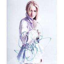 Autógrafo De Lindsay Lohan En Foto 8x10 C/ Coa