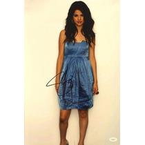 Poster Autografiado Por Selena Gomez Coa Jsa Justin Bieber