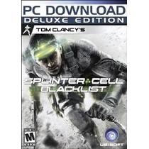 Splinter Cell Blacklist Deluxe Edition De Tom Clancy [descar
