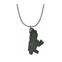 Gears Of War Collar Dije Llavero Hammerburst Gris
