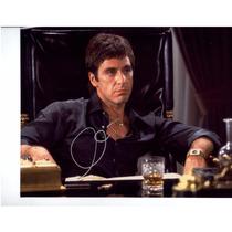 Autógrafo Del Actor Al Pacino Scarface Foto 8x10 C/ Coa