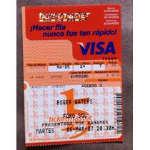 Roger Waters Boleto Coleccion Concierto Mar 2007 Pink Floyd
