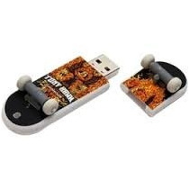 Memoria Usb En Forma De Patineta Flash Drive De 4 Gb