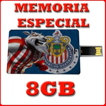 Memoria Usb 8 Gb Las Chivas Del Guadalajara Futbol Special