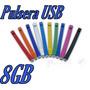 Pulsera De Silicon Usb 8gb Memoria C Estuche Gratis