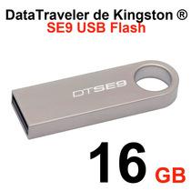 Kingston 16gb Memoria Datatraveler Se9 Metalica Dtse9h/16gb