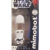 Memoria Usb Snow Trooper 4gb Mimobot Star Wars Original