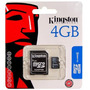 Micro Sd 4 Gb Kingston