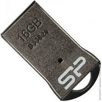 Silicon Power Memoria Usb 2.0 16gb Super Minitouch T01 Plata