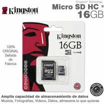 Memoria Micro Sd 16 Gb Kingtong Facturado