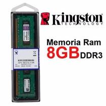 Memoria Ram 8 Gb Kingston Ddr3 1333 Mhz Pc3-10600 Escritorio