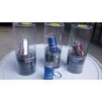 Memoria Usb Flas De 8 G De Lata En Mini Pepsi /coca Cola