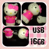 Memoria Usb En Forma De Hello Kitty 16gb