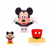 Usb 8gb Figura Mickey Mouse