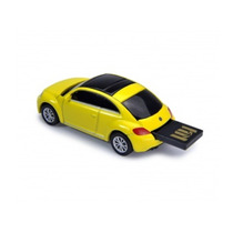 Usb 16 Gb New Beetle Tecnoideas Amarillo