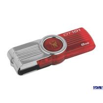 8 Memorias Usb Kingston Datatraveler 101 G2 8gb Rojo