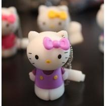 Usb 8gb Figura Hello Kitty 01 Purple