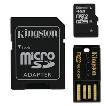 Memoria Flash 4gb Kingston Mbly4g2/4gb Multi Kit +c+