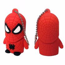 Subasta Memoria Usb Spiderman 8gb De Memoria Flash