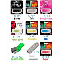 Memoria Usb 8gb Kingston Varios Modelos Mayoreo