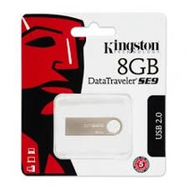 Nueva Memoria Usb Kingston 8gb Modelo Se9 Garantizada