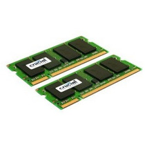 Memorias Crucial 4gb Kit (2gbx2) Ddr2 667mhz (pc2-5300) Cl5