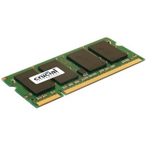 Memorias Crucial 2gb Single Ddr2 800mhz (pc2-6400) Cl6 Sodi