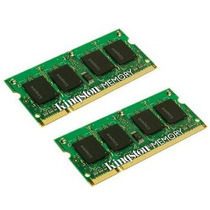 Memorias Kingston Apple 4gb Kit (2x2gb Modules) 667mhz Ddr2