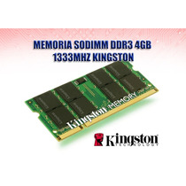 Ddr3 Sodimm 4gb 1333mhz Pc3-10600 Kingston Ndd