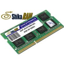 Memoria Ram 4gb Ddr3 Shikatronics Para Portatiles Hp/compaq