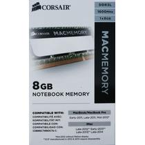 Memoria Para Macbook Soddr3 8gb 1600mhz, Certificada Por Mac