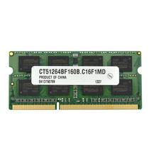 Memorias Crucial 4gb Single Ddr3 1600 Mt/s (pc3-12800) Cl11