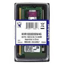 Kingston Memoria Ram 4gb 1333mhz Ddr3 Para Laptop