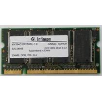 Memoria Ram Ddr 256mb 266 Cl2 Pc2100s-2033-0-a1 Infineon