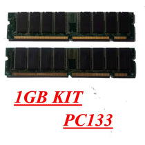 Kit De Memorias Pc133 1gb 168 Pines 2x512gb