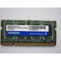 Memoria Ram Ddr2 512 Mb Laptop 1rx8 Pc2-5300-555-12 Adata So