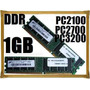 Memoria Ram Ddr 1 Gb 266,333,400 Probadas Varias Marcas