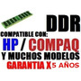 Memoria 512 Mb Ddr 400 Pc3200 / 333 Pc2700 / 266 Pc2100 Sp0