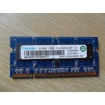 Memoria Ram Ramaxel Ddr2 512mb 1rx8 Pc2-5300s-555